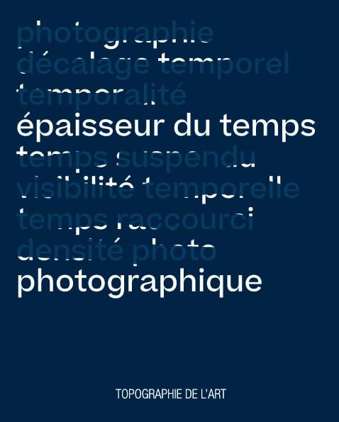 Épaisseur du temps photographique